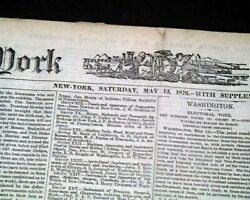 Impressionism 19th Century Impressionist Art Movement Founded 1876 Nyc Newspaper