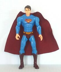 DC Superman Returns Wind Blowing Superman 5quot; Action Figure 2006 Mattel Used