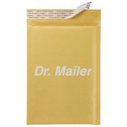 Dvd 7.25x9.75 Kraft Bubble Mailers Shipping Mailing Padded Envelopes