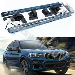 Deployable Electric Running Board Side Step Pedals Fits For Bmw X3 G01 2018-2021