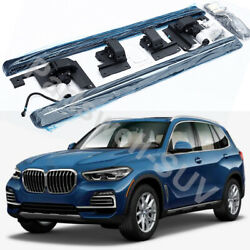 Deployable Electric Running Board Side Step Pedals Fits For Bmw X5 2019-2021