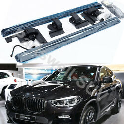 Deployable Electric Running Board Side Step Pedals Fits For Bmw X4 2019-2021