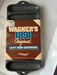 Vintage Old Wagner Ware Cast Iron Corn Cob Bread Mold Baking Pan 1319