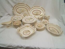 Spode Buttercup China Service For 8 Set Of 46 Pcs Minus 4 Cups And Saucers