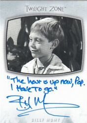 2020 The Twilight Zone Archives - Billy Mumy Ai-23 Inscription The Hour Is...