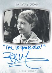 2020 The Twilight Zone Archives - Billy Mumy Ai-23 Inscription I'm 10 Years..