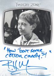 2020 The Twilight Zone Archives - Billy Mumy Ii-23 Inscription ...cotton...