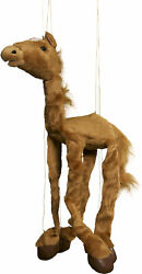 Sunny Toys Wb952a 38 In. Four-leg Large Marionette Horse - Brown