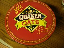 3988 Vintage 1983 Limited Edition Quaker Oats Round Canister Tin Collectibles