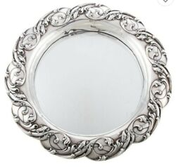 Gorham Sterling Silver-mounted Mirrored Plateau