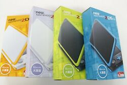 Nintendo New 2ds Ll Xl Complete Accessories Used Select Charger Japanese Only