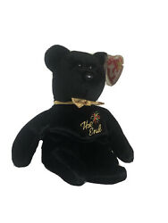 Ty Beanie Babies The End Bear 1999 With Rare Tag Errors Mint Condition