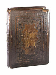 Brown Self-interpreting Holy Bible Containing The Old And New Testaments 1859