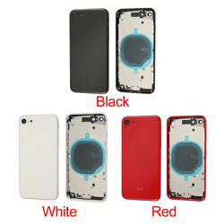 Back Glass Housing Battery Cover Frame Assembly For Iphone Se 2nd Generation