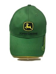 John Deere Tri Green Equipment  Strap Back Hat Look At Pictures For Condition $14.99