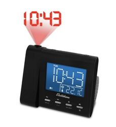 ElectroHome Digital Alarm Clock with Wall Projector