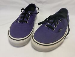Vans 'OFF THE WALL' Purple Men Size US 4 Women Size US 5.5 Preowned
