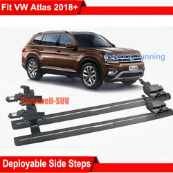 Deployable Electric Running Board Side Step Pedals Fits For Atlas Teramont 2018+