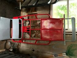 Go Kart Frame Brand New Parts New Axle And Wheels Etc. Great Frame