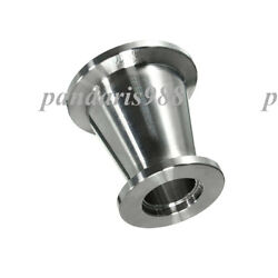 Kf50 Nw50 To Kf40 Nw40 Flange Vacuum Conical Reducer, Stainless Steel 304