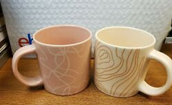 Whitney Kerney Set Of Two Mugs - New In Box