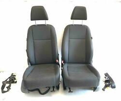 2011 Volkswagon Tiguan Lh + Rh Front Seats W/ Seat Belts Oem Used Free Shipping