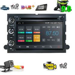 7 Android 9.0 Car Radio Navigation Stereo Dvd Gps 4g For Ford F150 2005-2008 U