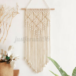 31.5#x27;#x27; Wall Hanging Woven Tapestry Living Room Handmade Macrame Home Art Decor