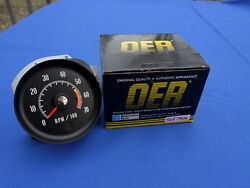 New 71-72 Chevelle Ss Monte Carlo Tachometer 400 454 Ls3 Ls5 Oer Parts 5657406