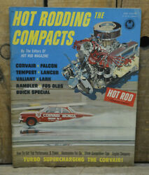 1962 HOT ROD DRAG RACING COMPACTS FALCON COMET CORVAIR TEMPEST VTG NHRA HOW TO