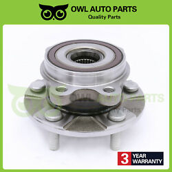 New Front Wheel Bearing Hub Assembly For 06-12 Rav4 4-cyl Scion Xb Tc 5 Lugs 2wd