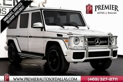 2015 Mercedes-Benz G-Class G 63 AMG® 2015 Mercedes-Benz G-Class Polar White with 44416 Miles available now!