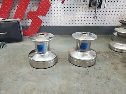 Pair Barient 20 Single Speed Winches