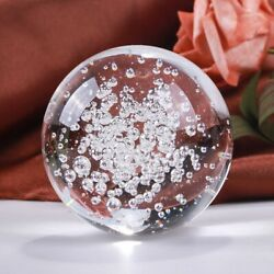 Transparent Bubbles Crystal Ball Good Luck Globe Miniature Home Office Ornaments