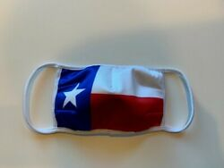 New face mask masks red white blue star Texas state flag  $10.00