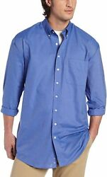 Cutter And Buck Men's Big-tall Long Sleeve Epic Easy Care Nailshead Shirt