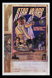 Star Wars Nss D ☆ Rolled Never-folded Movie Poster 1sh ☆ Not Supposed To Exist