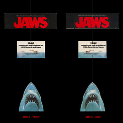 Jaws '75 ☆ Unique Reverse Image Mobile ☆ Rare Pre-censored Nipple-popping ☑️art