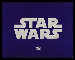Star Wars ☆ 1977 1st Roadshow Release ☆ 11x14 Title Lobby Card ☆ Movie Poster