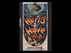 HELL'S HOLE ☆ GREATEST PRE-CODE ROARING 20s & JAZZ AGE MOVIE POSTER ☆ BAR NONE!!
