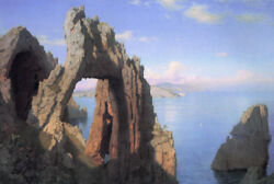Oil Painting 100 Handpainted On Canvas Arco Naturale