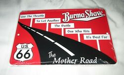 Route 66 - Burma Shave Metal Sign 06 Sale - New