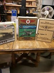 3 Wings Of Texaco Collectible Airplanes--new In Boxes--great Collectibles
