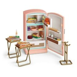 American Girl Doll Maryellenand039s Refrigerator And Food Set New In Box