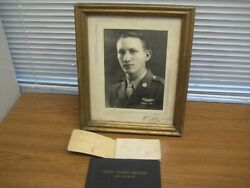 Picture/note Book/airline Flight Record Of 64th Troop Carrier 18 Sqd Crewmember
