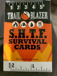 Survival Playing Cards Prepper Bug Out Bag Gear Backpack Supplies SHTF $11.99