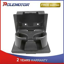 In-dash Fold Down Water Cup Holder Assemby For 2008-2016 Ford F250-f550 Truck