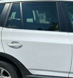 No Shipping 04-10 Bmw X3 Rear Rh Right Passenger Side Door Bare Shell White