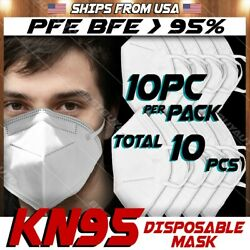 Kn95 Protective Face Mask Pfe Bfe 95 Pm 2.5 Disposable 5 Layer Respirator Cover