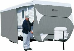 Classic Accessories 73163 Overdrive Polypro 3 Deluxe Travel Trailer Cover 18-20and039